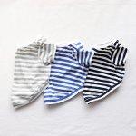 画像13: UVカット生地のボーダーTシャツ(ネイビー×オフホワイト) (13)